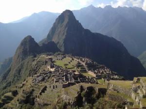 Überblick auf Machu Picchu