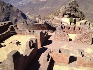 Überblick auf die Tempel von Pisca