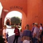 Kloster Santa Catalina Kopf