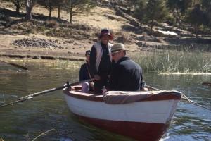 Mit dem Boot zur Kopfschanz Insel