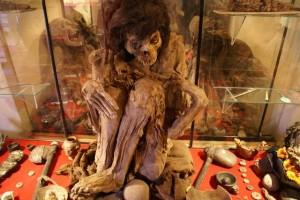 Mumie im Museum Alcra Pukara