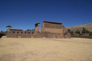 Tempel des Wiracocha in Raqchi